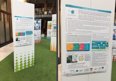 Poster session in INSPIRE conference (18-21 September 2018)