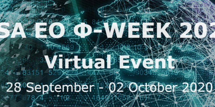 ESA EO PhiWeek 2020 Virtual Event (28 September – 02 October 2020)